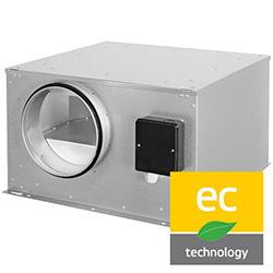 Potrubné ventilátory ISOR-EC (EC motor)