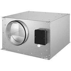 Potrubné ventilátory ISOR (AC motor)