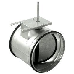 Uzatváracia klapka tesná kruhová SKG