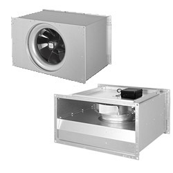 Potrubné ventilátory hranaté