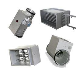 Ohrievače a chladiče do potrubia