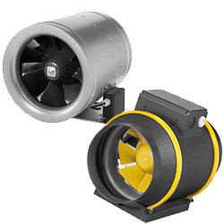 Potrubné ventilátory kruhové