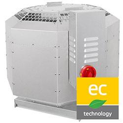 Strešné ventilátory DVNI-EC