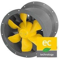 Potrubné ventilátory kruhové AL-EC (EC motor)