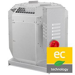 Strešné ventilátory DVN-EC
